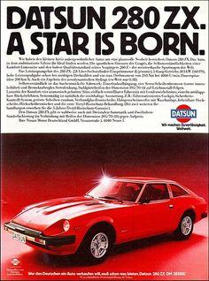Nissan-Datsun 280 ZX.