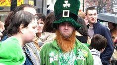 Binghamton NY St Patrick's Day Parades 2000 2004 2007 2009 - Geraldine Clark - YouTube