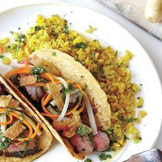 Cilantro Yellow Rice | MyRecipes.com