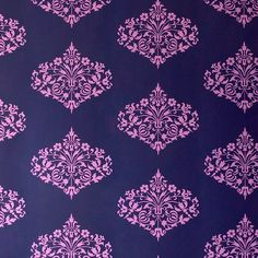 I pinned this Fountain Wallpaper in Midnight from the Amy Butler event at Joss and Main!
