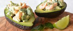 Garnalen cocktail ouderwets? Niet als je 'm op deze manier maakt. Dan is 'ie ook nog eens erg gezond en lekker. Ik ben dol op de combi avocado en garnalen.