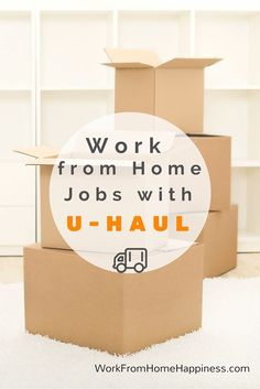 U-Haul frequently hires work from home agents to assist their customers. You can help people move, book truck reservations, and even provide roadside assistance with the different U-Haul work from home jobs available!