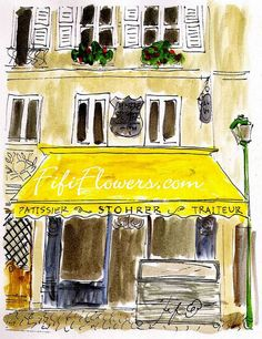 Stohrer Patisserie Paris by Fifi Flowers