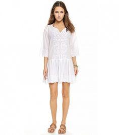 PilyQ Cristina Dress, White