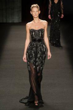 Monique Lhuillier - Fall-Winter 2014-2015 New York Fashion Week