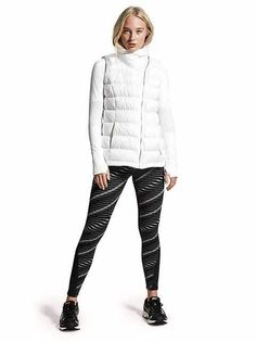 Looks We Love: Outdoor Running/Gym | Sculptek Waves Tights + Downabout Vest