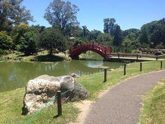 Japanese Gardens in Palermo, Buenos Aires, Argentina