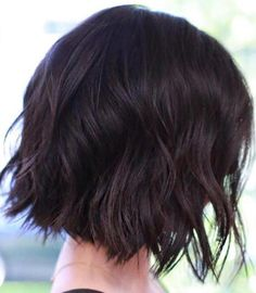 Choppy Wavy Bob Hairstyle