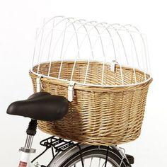 Cykelkurv med beskyttelsesgitter