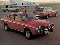 """1974 Mazda RX-4.  I had a white one that was shot before I ever got it.  Seals were gone; called it """"the mosquito fogger"""" it smoked so much."""