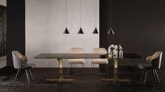 Catlin Dining Table | Designed by Rodoflo Dordoni, Minotti ...
