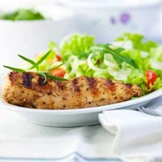 Try our Grilled Yogurt Chicken, using Oikos Greek yogurt as a substitute ingredient for your recipes.