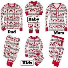 Christmas Hot Sale 2016 New Cartoon Kids Pajama Sets Children Sleepwear Nightwear Family Christmas Pajamas Toddler Baby Pyjamas