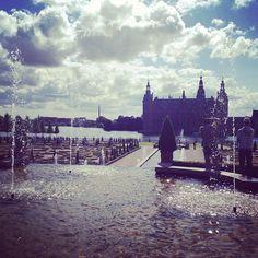 martastenz #frederiksborg #castle #fountain #sunshine #denmark