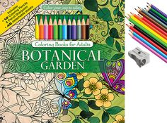 Get creative this summer with our Botanical Garden Adult Coloring Book with 12 colored pencils and a pencil sharpener! Shop now! https://www.colorwithmusic.com/collections/adult-coloring-books/products/botanical-garden-color-pencils #colorwithmusic #adultcoloring #coloring #coloringbook #botanicalgarden #summerfun #coloredpencils #design #art #drawing #painting #color #flower #butterfly #interiordesign