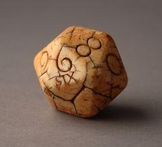 A Rare Ivory English Teetotum Gambling Ball (England)