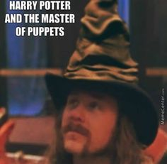 James Hetfield Harry Potter and the Master of Puppets
