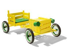 PLAY Soapbox cart by @Normann Copenhagen | Design Jesper K. Thomsen. Wooden Toy for kids