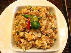The Filipino Kitchen: RECIPE: Tofu Sisig