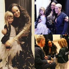 Willow fangirling with Riri at the GRAMMYs   P!NK (Alecia Beth Moore) Fanclub  http://ift.tt/2uNVxEO