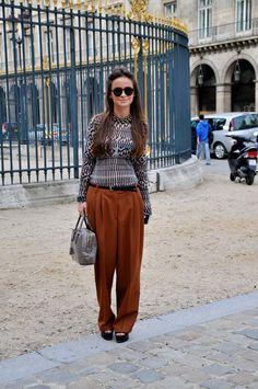 Luiferiga: Street Style: Miroslava Duma