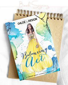 Book Signing   Chloe by Design Balancing Act, Illustrator Brooke Hagel