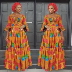 welcome to another new week, a lot of lovely styles were seen during the weekend, especially styles made with Ankara prints/ African Ankara fabric. Latest Ankara Fashion Style Gowns, Dresses and Tops Latest Ankara styles 2018 African Fashion Ankara, Latest African Fashion Dresses, African Print Fashion, Africa Fashion, Ankara Maxi Dress, Maxi Gowns, Long African Dresses, African Print Dresses, Ankara Gown Styles