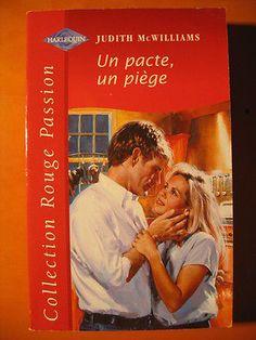 Un pacte,un piège - Judith McWilliams -Harlequin Rouge Passion 1011