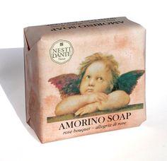 Nesti dante amorino soap gel doccia g) da € - Compara Cream Baths, Shea Butter Soap, Rose Soap, Luxury Soap, Perfume, Organic Soap, Handmade Soaps, Rose Bouquet, Bar Soap