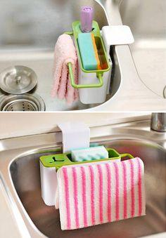 kitchen Self-draining Sink Rack-5.52 Online Shopping| GearBest.com