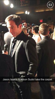 Jason Isaacs at Dig Premiere from Snapchat