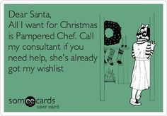 I have just what you are wishing for! Shop Online at www.pamperedchef.biz/beckyeckes5