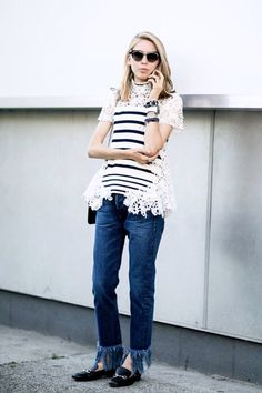a new take on striped style