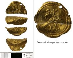Perhaps one of the most incontrovertibly 'magic' objects from Roman Britain is a gold disc depicting a scene in which the Evil Eye (the supernatural personification of 'bad luck') is suppressed by its enemies