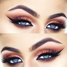 Perfect Makeup Ideas For Blue Eyes picture 4