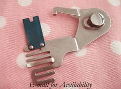 SINGER Sewing Machine Shirring Plate Attachment - another fun one