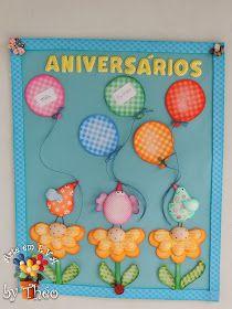 Mais uma Oficina Virtual começando dia 13!   Vamos fazer peças para decorar a sala de aula que podem ser usadas em outros ambientes tbem! ... Kids Crafts, Foam Crafts, Crafts To Make, Arts And Crafts, Paper Crafts, Magic For Kids, Birthday Charts, Garden Deco, Class Decoration