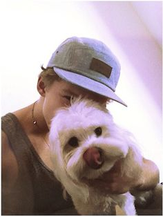 Cody Simpson and his adorable dog Buddy!