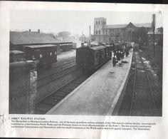 Abbey Railway Station, Shrewsbury, Shropshire Shrewsbury Shropshire, Steam Railway, Old Town, Railroad Tracks, British, Gems, Posters, Train, Building