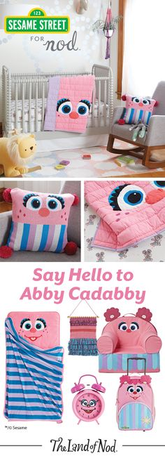 Say hello to Abby Cadabby and welcome one of Sesame Street's most beloved characters into your home. With kids bedding, toys, décor and more, we have plenty of ways to outfit a kids' bedroom or playroom for even the biggest Abby Cadabby fan.