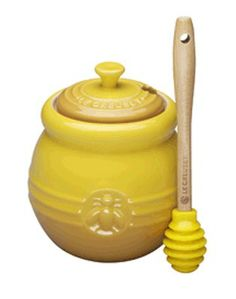 A charming way to keep honey on the counter or table, the Le Creuset Honey Crock includes a silicon dipper. Whether adding a touch of sweetness to your tea or drizzling Savannah Bee Honey over your favorite berries, this 16oz pot is ideal for everyday use! This is a great gift for the honey aficionado and a sweet housewarming present or birthday present. $24.00
