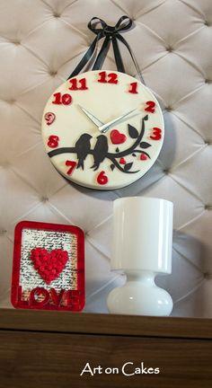 wall clock cake