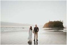 Ruby Beach Adventure Engagement Session by Sarah Anne Photography Beach Engagement, Engagement Shoots, Emily Austin, Beach Adventure, Epic Story, Before Sunset, Engagement Inspiration, Couple Shoot, Taking Pictures