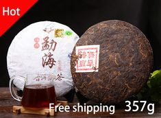 Chinese ripe puer tea, 357g oldest yunnan pu er tea,honey sweet Puerh cha,menghai pu erh drink,ansestor antiqueancient tree