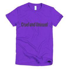 Women's Cruel and Unusual T-shirt - Ludic Tees