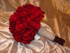 Real Touch Red Bouquet = rose bouquet