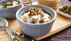 Apple Cinnamon Quinoa Breakfast Bake and more quinoa breakfast recipes on MyNaturalFamily.com #quinoa #breakfast #recipe