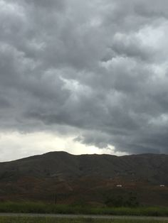 Dark clouds over So Cal
