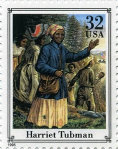 32 cents Harriet Tubman U. Postage Stamp, issued on June 1995 Harriet Tubman, Indiana, Commemorative Stamps, Black History Month, African American History, Stamp Collecting, Mail Art, Postage Stamps, Poster