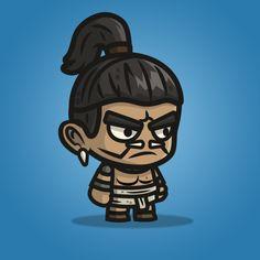 Mayan Tribe Knight